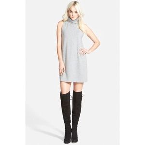 Nordstrom Leith A-Line Turtleneck Dress